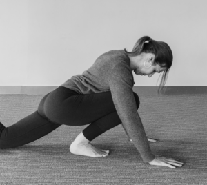 The Over-stepping Dragon also stresses the ankle joint.